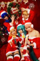 VOCALOID XMAS by michivvya