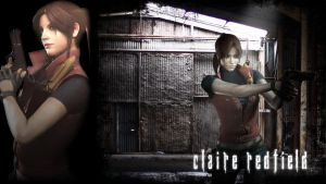 Resident Evil Claire Wallpaper by FadedBlackangel
