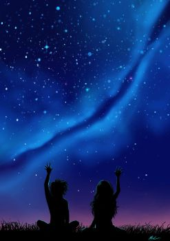 Touching the Stars by Myed89