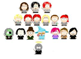 Harry potter vs. south park by Aqvila