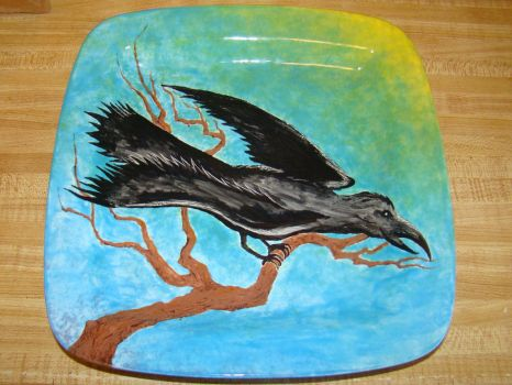 Ceramic Plate Painting 2 by sticksnstones89