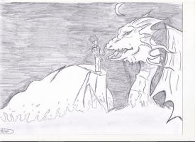 Boy and Dragon by JessicaL98000