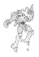Beast Wars Cheetor by VegetaPrime