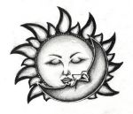 Kiss of the sun and the moon by edde