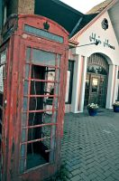 An Old Phone booth -2 by Lastday-of-magic