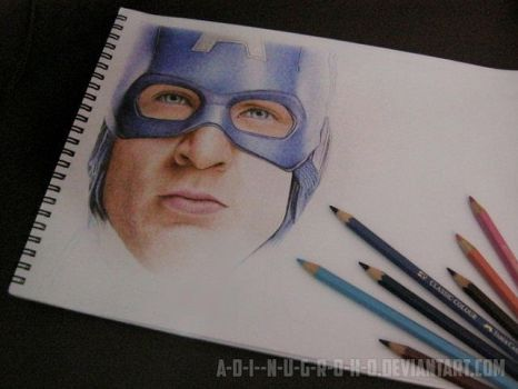 Captain America - Avengers Assemble WIP II by im-sorry-thx-all-bye