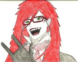 Grell-Chan by peppermay22