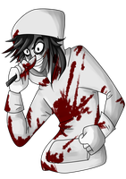 Jeff The Killer by Demintio