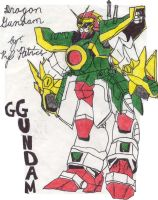 Dragon Gundam by kyogre11292002
