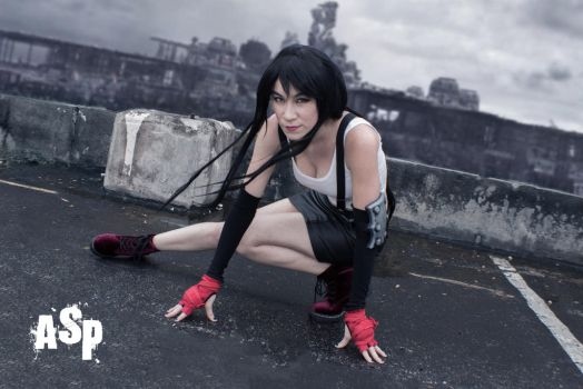 Tifa Lockhart - Let the Battles Begin! by KayLynn-Syrin