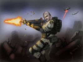 xcom speedpaint fan art by Helios437