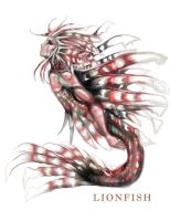 Lion Fish by LokiFenrys