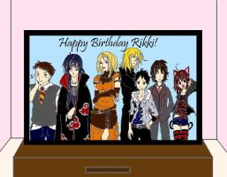 Happy Birthday Rikki by Itachisgirl4ever