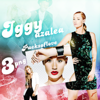 PNG PACK (100) Iggy Azalea by DenizBas