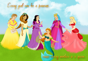 Queens of Disney by Torenganger