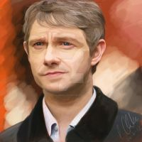Martin Freeman by clarkey-lou