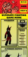 Ultimate Fighter Meme Stitches by Iron-Fox