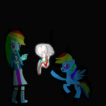 mlp rainbow dash my cutie mark! by Lovehalo
