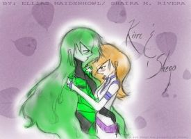 Kim and Shego Request by ElliasMaidenhowl