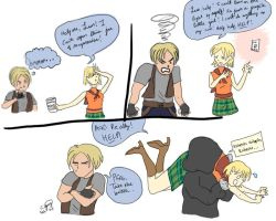 Resident Evil 4 Crap by chesney
