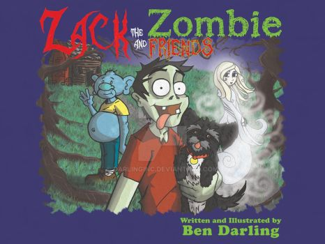 Zack the Zombie and Friends by darlinginc
