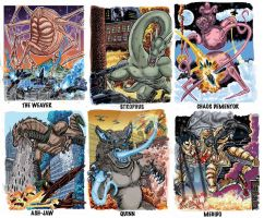 Colossal Kaiju Combat Trading Card Sample 8 by fbwash