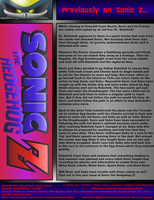 Sonic the Hedgehog Z #8 Previously June 2014 by CCI545