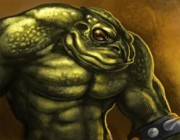 Pimple of Battletoads (unfinished) by Sullyman