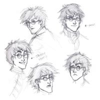 Harry Faces by travelingpantscg