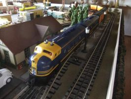Santa Fe Reefer Train 2 by SouthwestChief