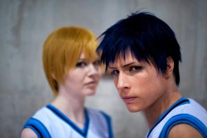 Aomine - AoKise by Tamarui