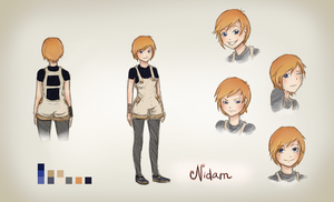 Young Nidam [Character Sheet] by chetom