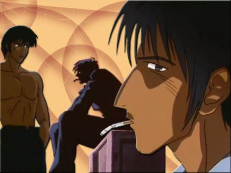 Wolfwood Wallpaper brown by Snape-Fan-Forever