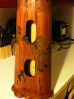 Celtic Harp Pyrography by fanfreluche3567