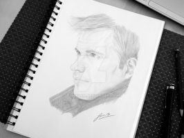 Michael Weatherly by loueezen