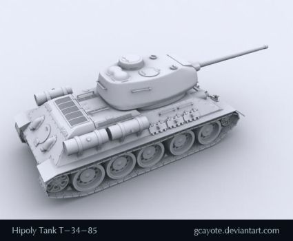 Tank-T34 by gcayote