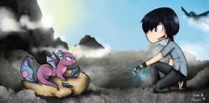 [Collab'] Come Here Little Dragon... [Dood'H] by Kimi3999