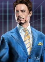 Tony Stark by Gravity9000