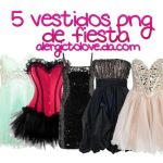 5 party dresses. by AlergicToLove