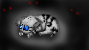 Poor kitty by Tati7899Wolf