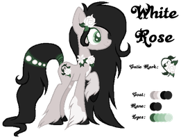 MLP:White Rose Profile by kiananuva12