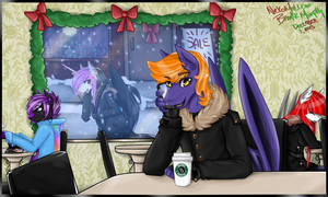 Meet Me For Coffee - PayPal Commission by NekoMellow