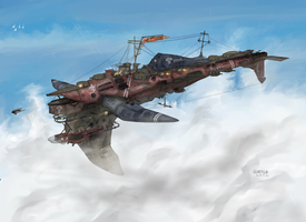 Imperial Fleet Heavy Cruiser, Arbalestia by AoiWaffle0608