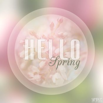 Hello Spring 1 by d3v86