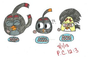 The Cookie Eating Contest (Bomb's Eyes) by AngieTheCatGuardian