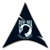 POW-MIA Arch Logo by Ghost1227