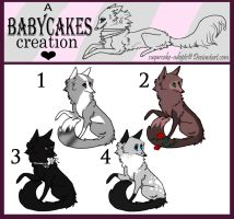 Realistic F O X E S by sugarcakes-adopts