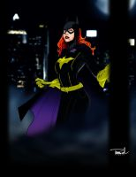 Batgirl by tsbranch
