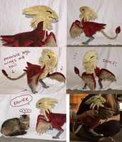 Archaeopteryx Plush by scilk