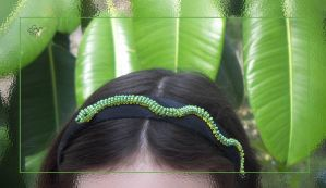 Hissing Hairband by cuddlefactor